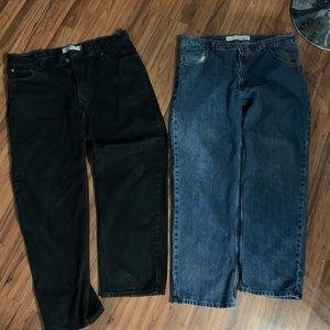 2 pr. Men's jeans sz 42x32